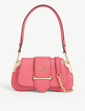 PRADA Sidone mini leather bag