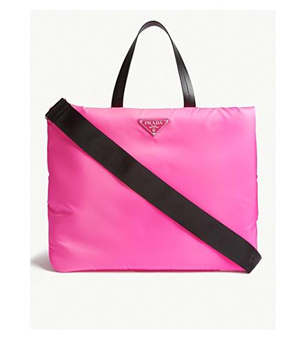 71a6bb8cff8f ... PRADA Neon tote (Neon+pink. PreviousNext