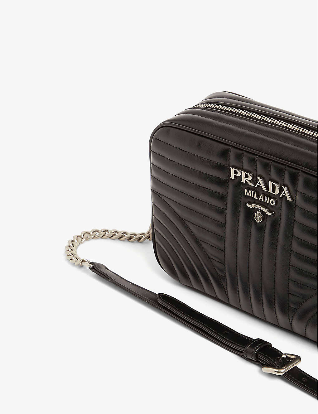 ae8199970 PRADA - Diagramme leather shoulder bag | Selfridges.com