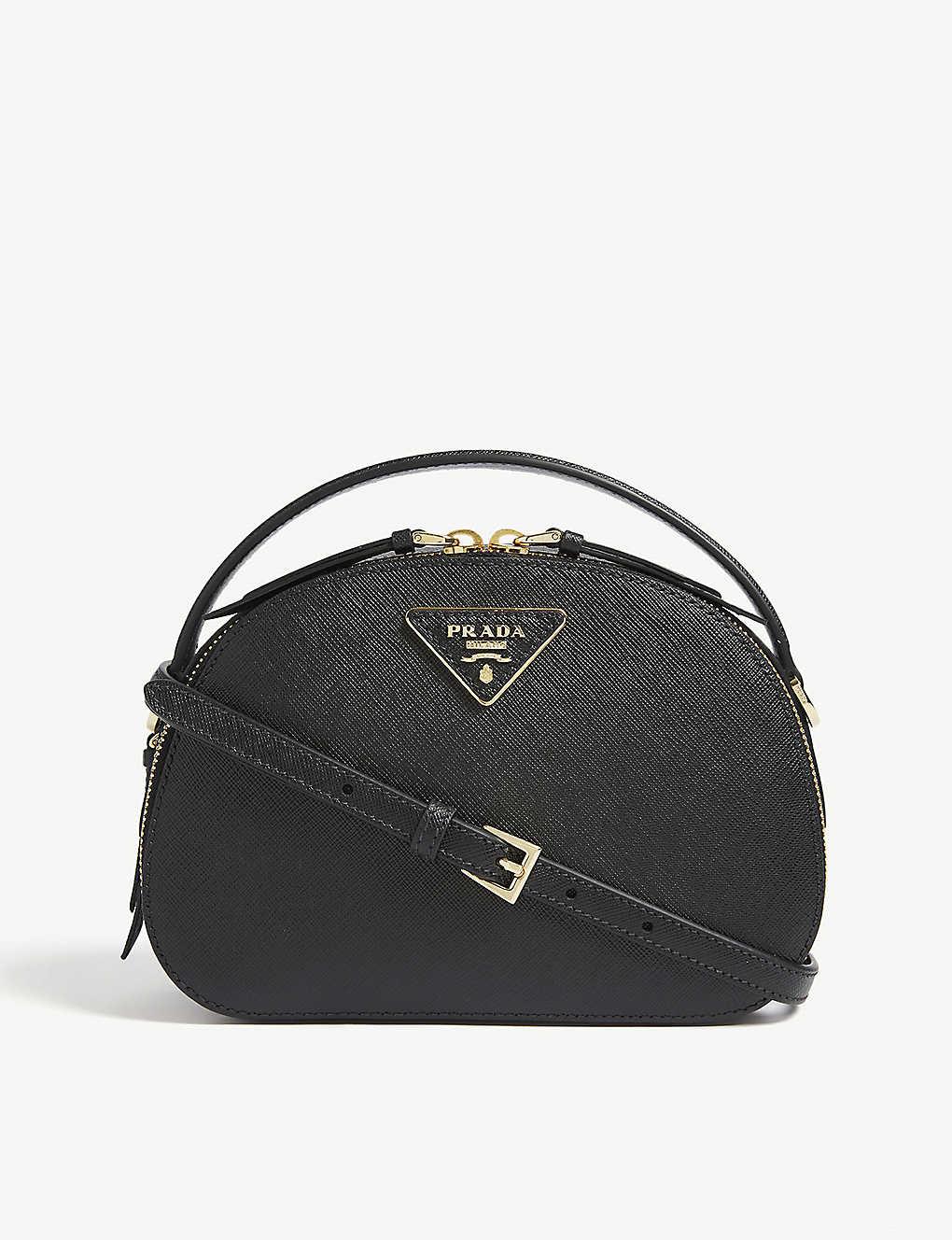 057bf9e9e PRADA - Odette saffiano leather cross-body bag | Selfridges.com