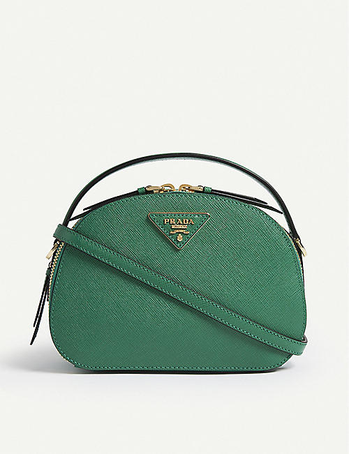 a716a76d7298 PRADA Odette leather shoulder bag