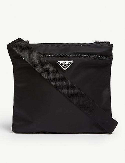 58434b56e9e5 ... norway prada prada nylon shoulder bag a5d82 30396