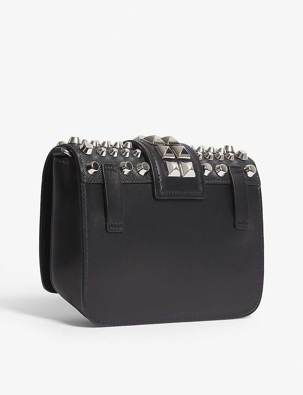 1d88cb59e2e1 PRADA - Cahier leather belt bag