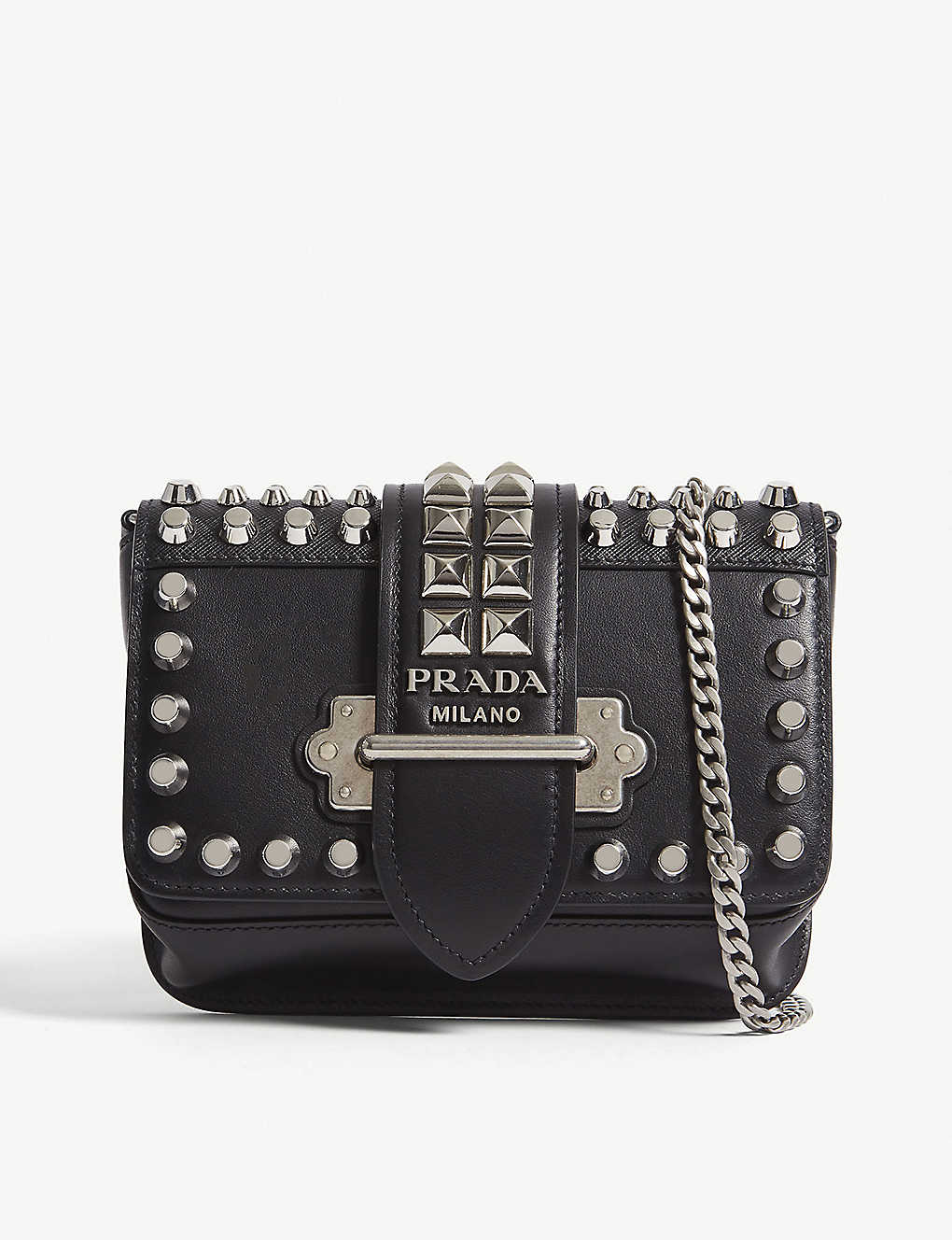 74ecfb6f68e9 PRADA - Cahier leather belt bag | Selfridges.com