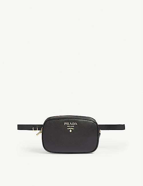 5e50d1612219 PRADA Core Saffiano leather bumbag