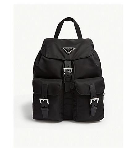 045a92222440 PRADA - Logo small nylon backpack