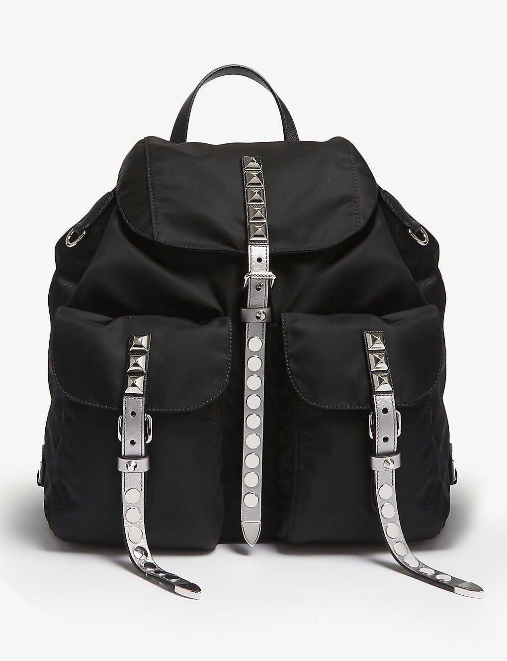 b14910138b38 PRADA - Nylon studded backpack | Selfridges.com