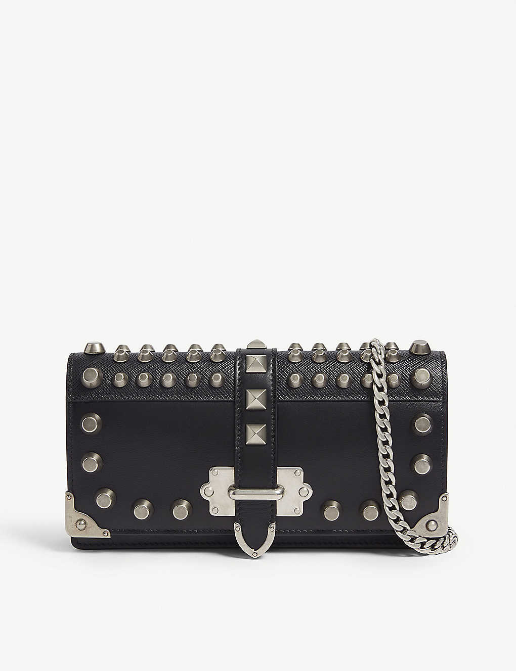 9addaff5ff1b PRADA - Cahier leather mini shoulder bag | Selfridges.com
