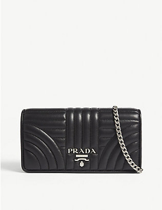 PRADA: Quilted leather wallet-on-chain