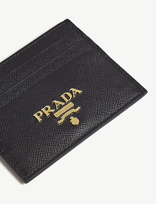 PRADA Classic Saffiano leather card holder