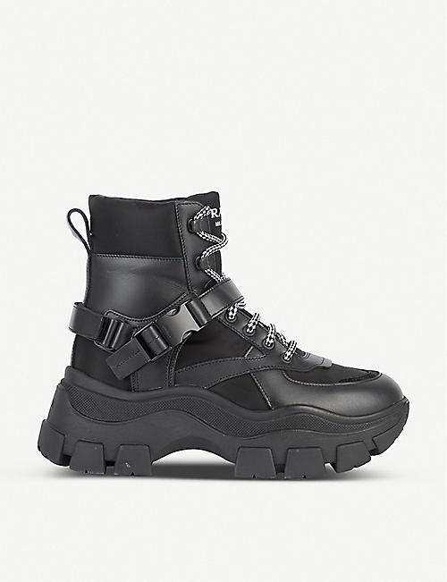 PRADA Rodeo leather boots