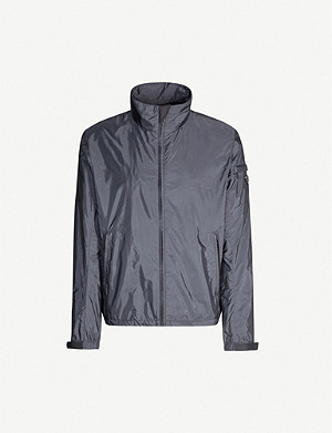 PRADA Logo patch shell jacket