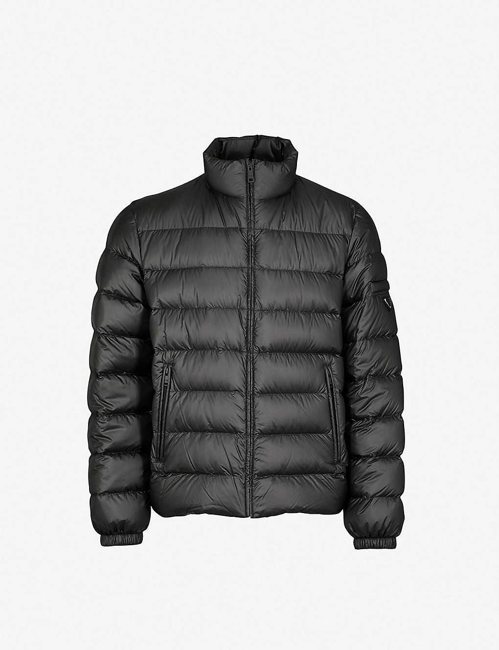 6b1e1476592 PRADA - Padded shell-down jacket | Selfridges.com
