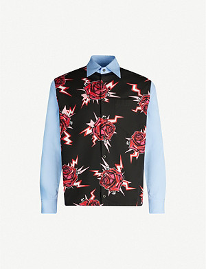 PRADA Rose Bolt regular-fit cotton shirt