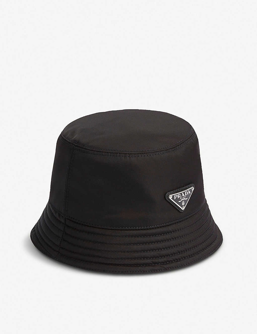 1d49d847cf1 ... Logo-plaque nylon bucket hat zoom ...