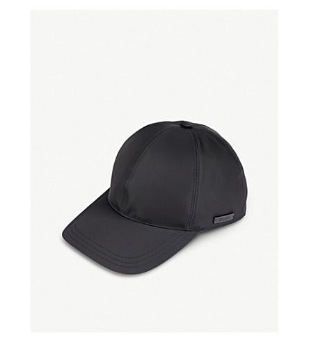 PRADA - Logo-embossed nylon baseball cap  1660dc21d86