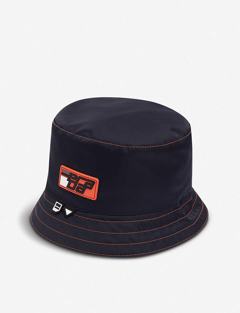 a3f2678e PRADA - Logo-embellished nylon visor   Selfridges.com