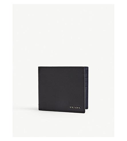 dcdf37adddaa0f PRADA - Saffiano leather billfold wallet | Selfridges.com