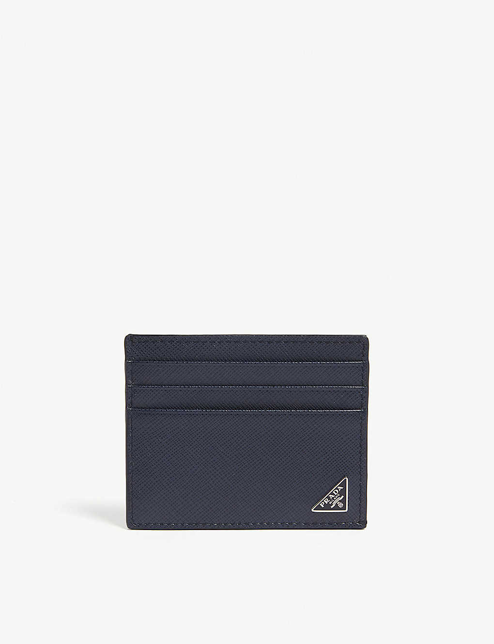 7bf1e629f414 PRADA - Saffiano leather card holder | Selfridges.com