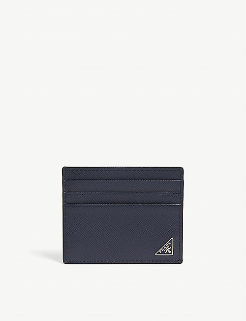c0b04199c35b PRADA Saffiano leather card holder