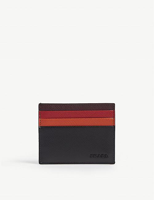 9d5dab25c45b ... good prada tri colour saffiano leather card holder 3020b 512e0 ...