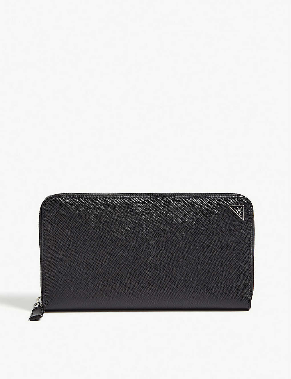 db9a51dc15d5 PRADA - Large Saffiano leather travel wallet | Selfridges.com