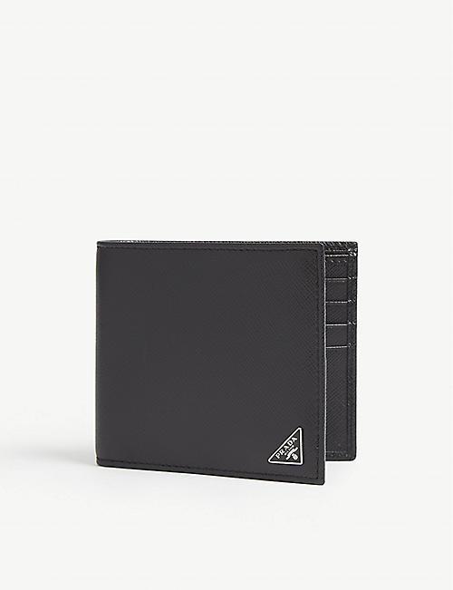 2cc2ee82a481 PRADA - Saffiano leather billfold wallet | Selfridges.com