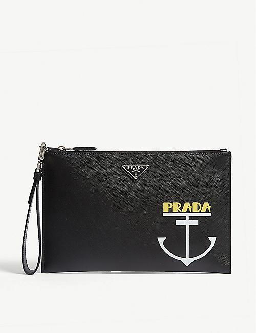 f21b7892e3fd Prada Bags - Men's wallets, Backpacks & more | Selfridges