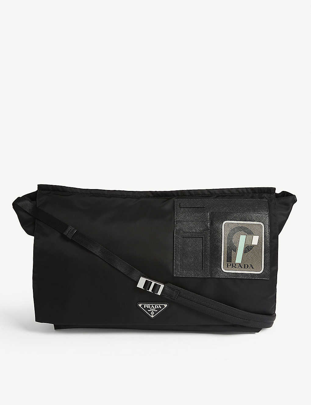 d75f6032507a PRADA Nylon messenger bag. Currently unavailable. This product is  unfortunately ...
