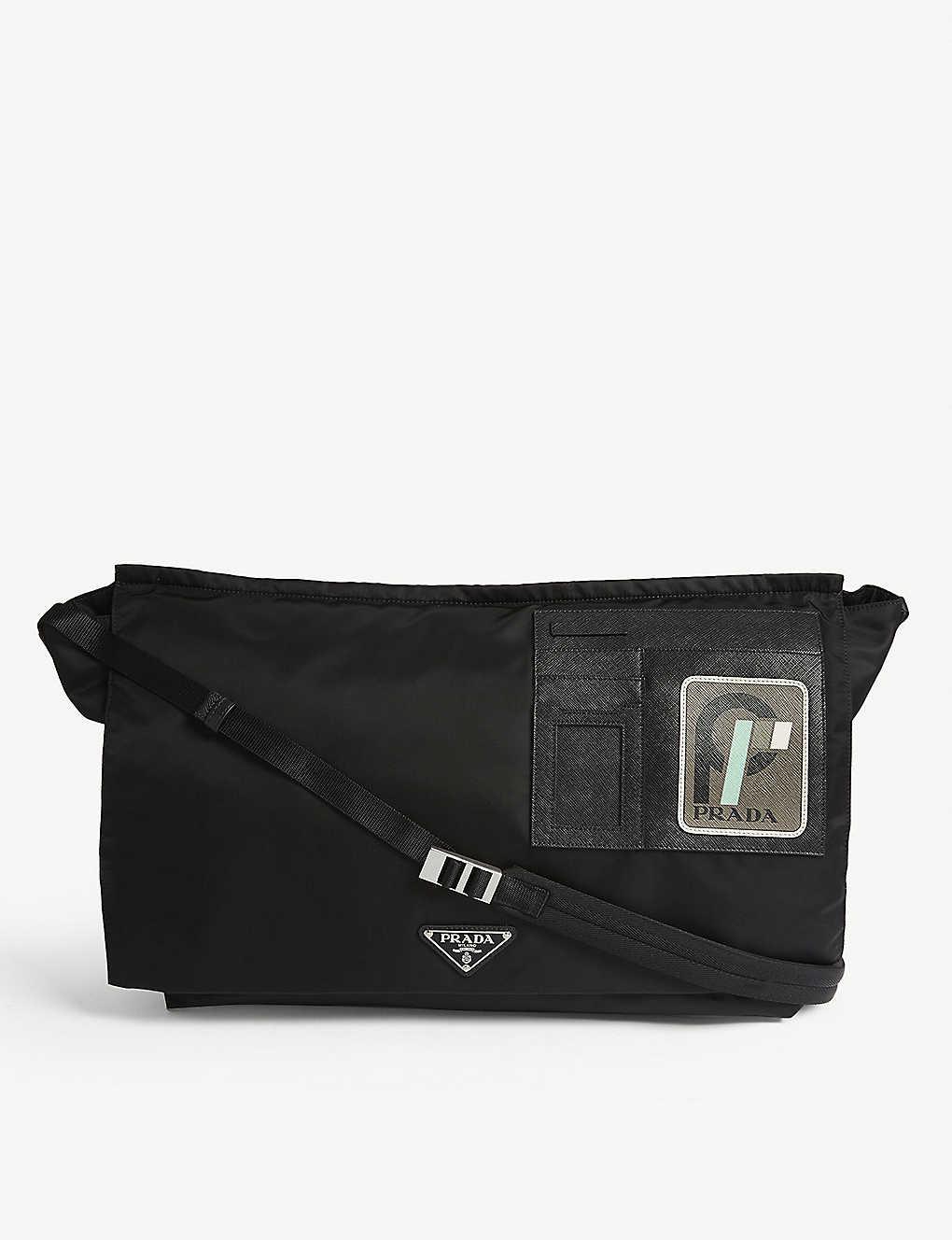 f40b9d0b5894 PRADA - Nylon messenger bag | Selfridges.com