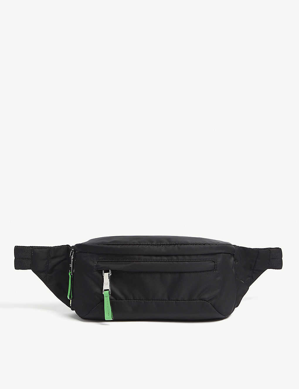 new high huge sale wide range Fluorescent logo nylon belt bag