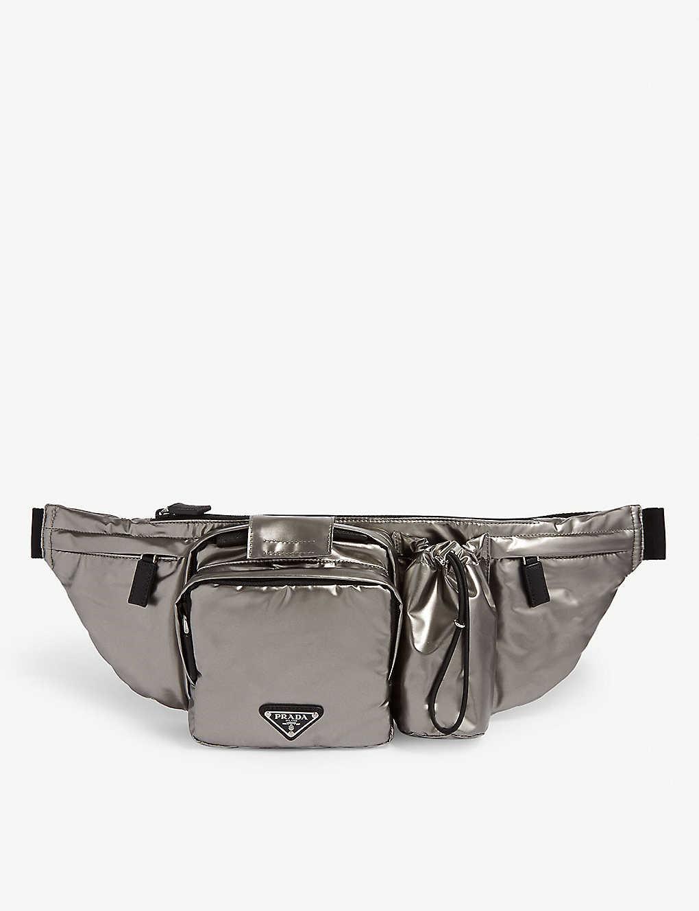 30389717dae0ab PRADA - Metallic belt bag | Selfridges.com