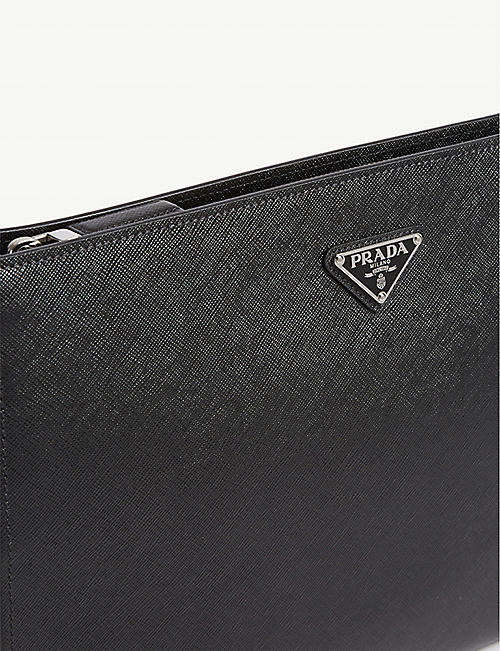 PRADA Saffiano leather portfolio