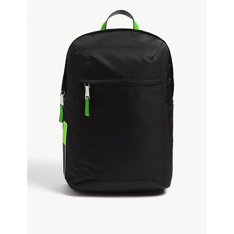 PRADA | Fluorescent Nylon Backpack | Goxip