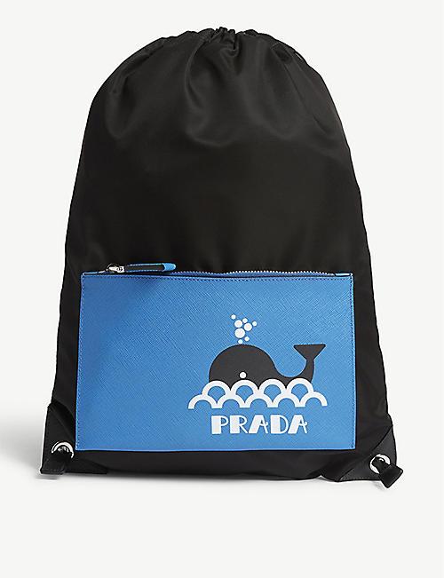 26b93fc14aeb Prada Bags - Men's wallets, Backpacks & more | Selfridges