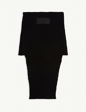 PRADA Ribbed snood