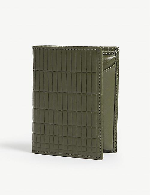 5c79e6db1197 COMME DES GARCONS Brick leather billfold wallet