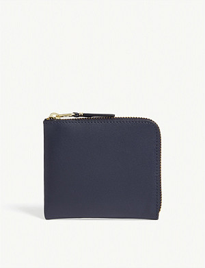 COMME DES GARCONS Leather zip coin purse
