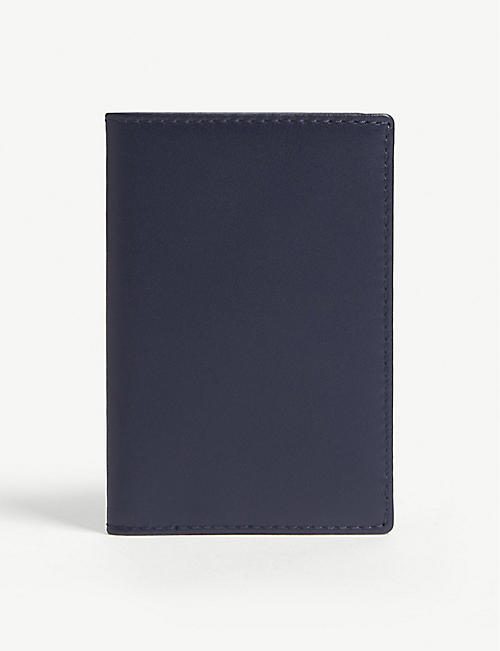 COMME DES GARCONS Folding leather card holder