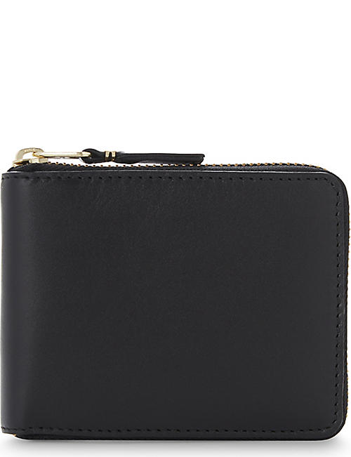 COMME DES GARCONS Leather zip-around wallet