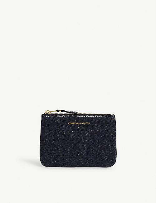 c2e5e33164af2 COMME DES GARCONS Denim pouch purse