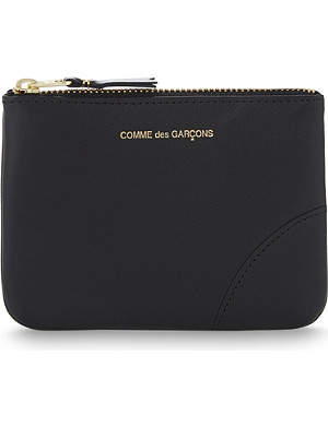 COMME DES GARCONS Small zipped leather pouch