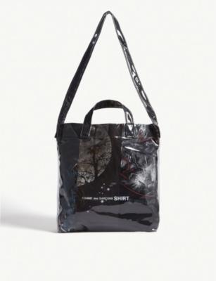 40a4fb5d1b5 COMME DES GARCONS SHIRT - PVC tote bag | Selfridges.com