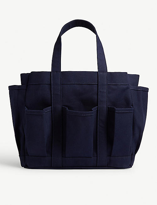 COMME DES GARCONS SHIRT Utility cotton canvas tote