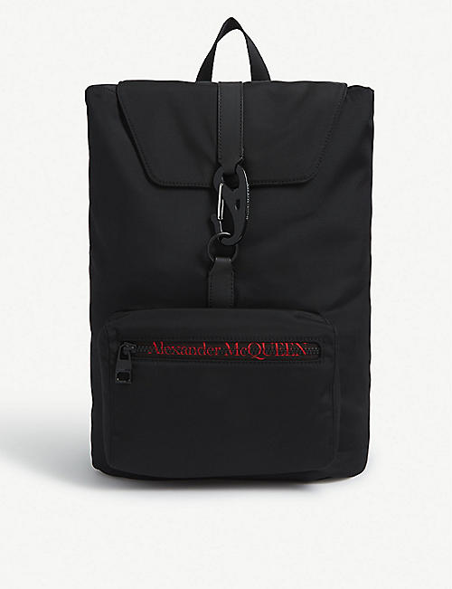 ALEXANDER MCQUEEN Urban nylon backpack