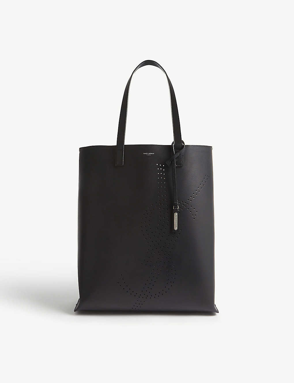98c6f2c8675 SAINT LAURENT - YSL recycled leather tote | Selfridges.com