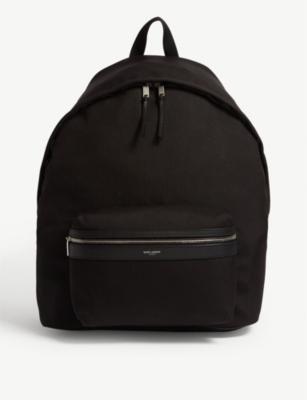 97057acf4 SAINT LAURENT - Giant City canvas backpack | Selfridges.com