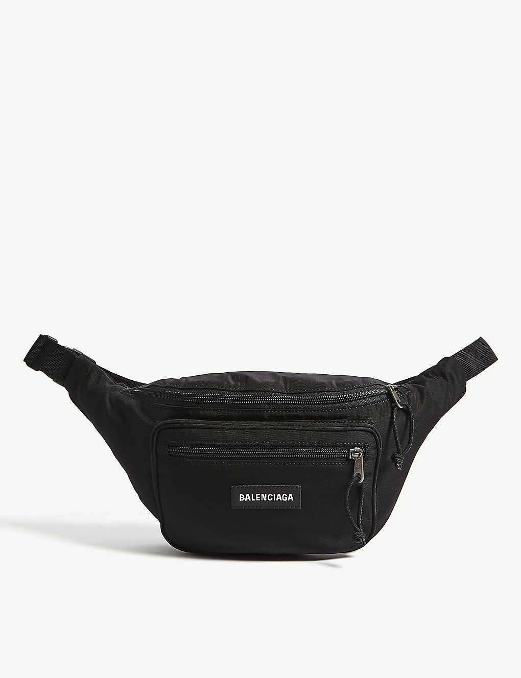 f0ea280760 BALENCIAGA - Explorer logo belt bag | Selfridges.com