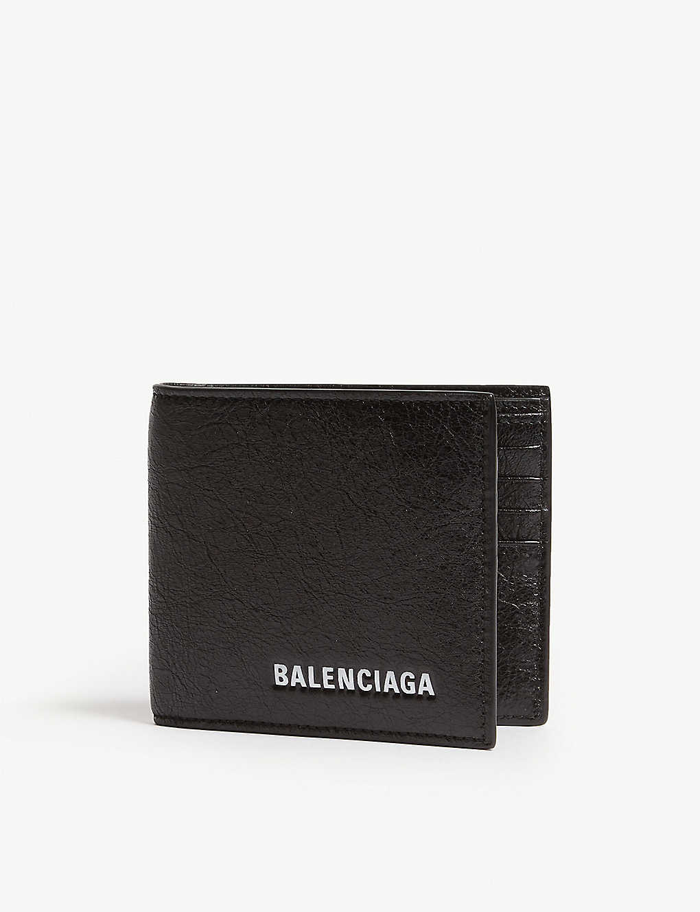 92ec1e95b8 BALENCIAGA - Explorer leather wallet-on-chain | Selfridges.com