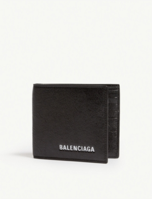 BALENCIAGA Explorer leather wallet-on-chain